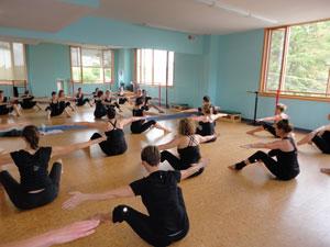 Body Works Pilates class